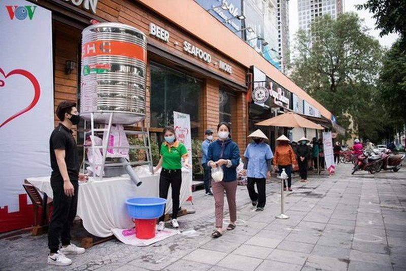 free rice atms in vietnam hanoi