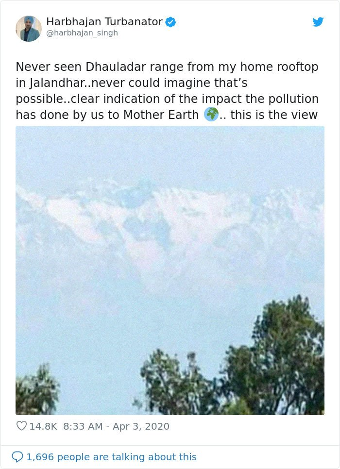 himalayas pollution coronavirus