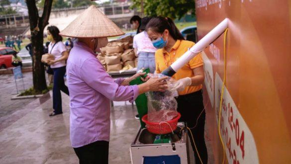 free rice atm vietnam