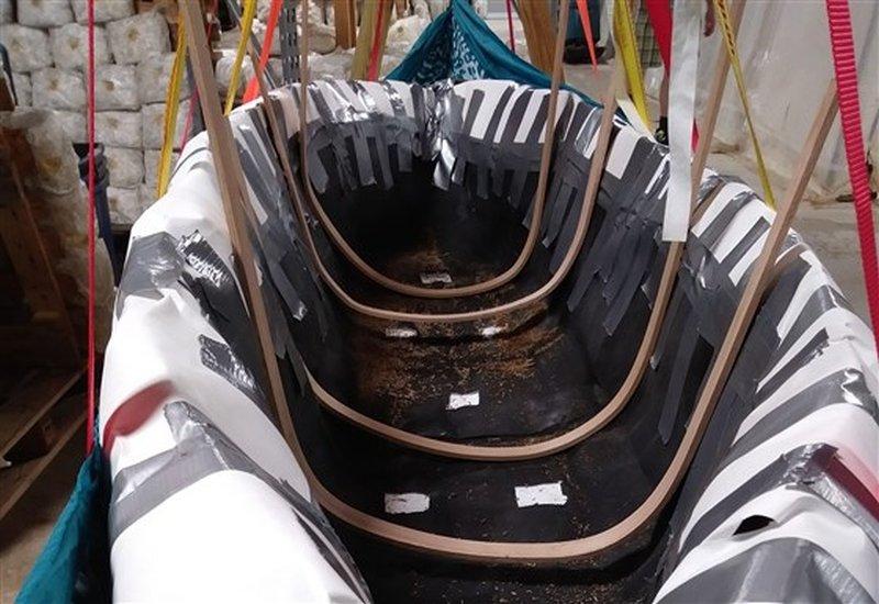 katy ayers mushroom boat
