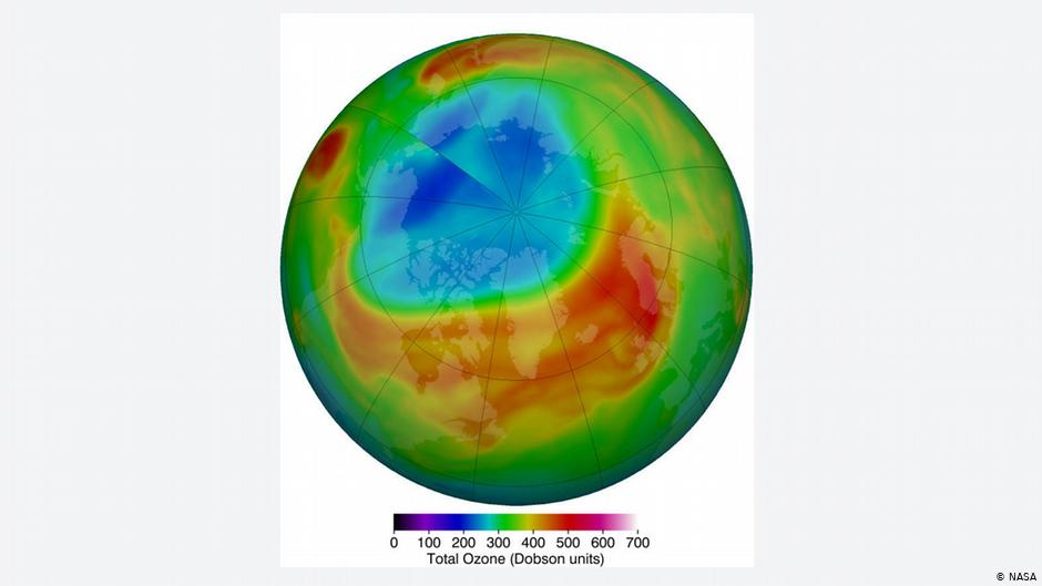 Massive Ozone Hole 10 Times the Size of Greenland Over the Arctic Has Fully Closed
