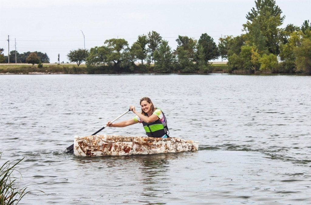 This Student Grew a Mushroom Canoe That Actually Floats