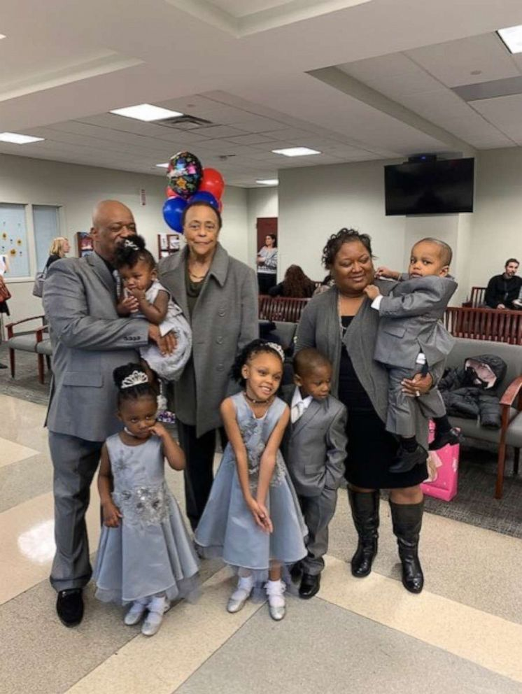 dad adopts 30 kids 5 siblings