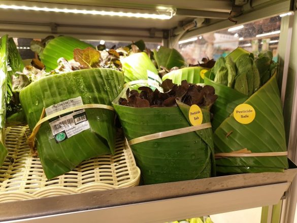 banana leaf packaging thailand