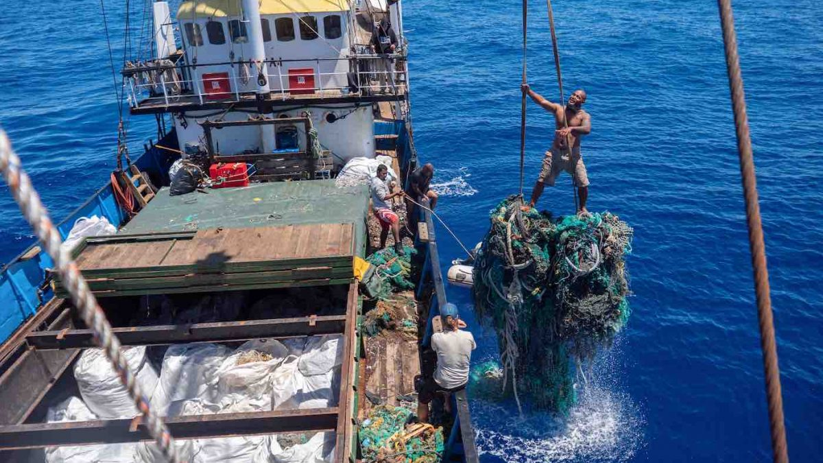 New Record Set for the Largest Amount of Plastic Removed From the Great Pacific Garbage Patch