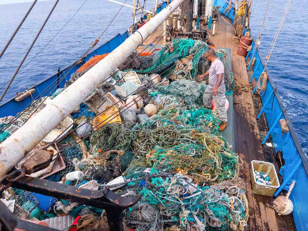 ghost nets pacific garbage