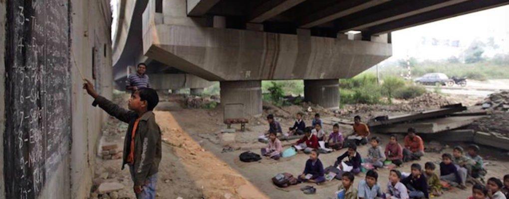 free school under bridge 2